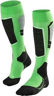 Falke, Sk4 M_Kh Calcetines de esquí, Hombre, Verde, 44-45