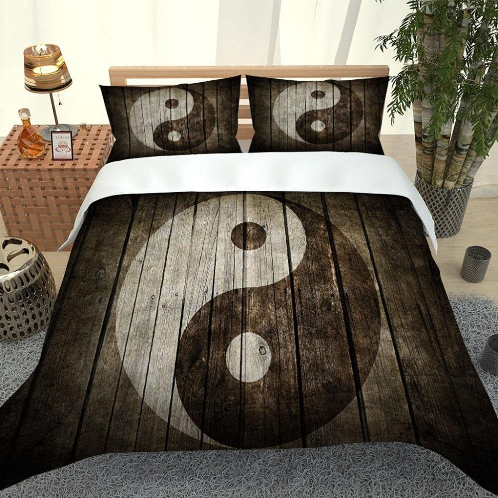 2 3Pcs Max 86% OFF Bedding Set 3D Printing Yin Co Pattern Tai Duvet Chi Ranking TOP13 Yang