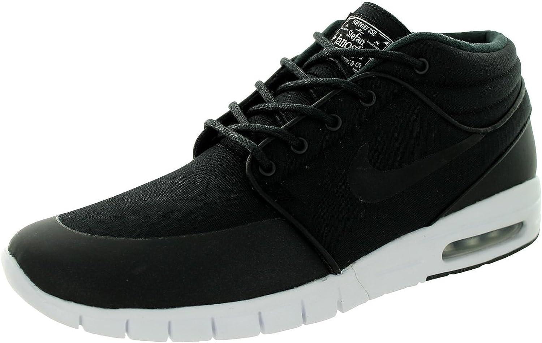 Nike SB Stefan Janoski Max Mid Trainers Black 807507 001, Size 39
