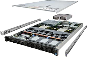 DELL PowerEdge R620 Server 2X 2.90Ghz E5-2690 128GB 2x256GB SSD 2x1TB High-End (Renewed)