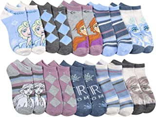 Disney Frozen 10-Pack Socks Multi Pack Set
