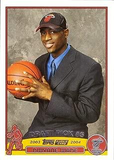 2003-04 Topps Basketball #225 Dwyane Wade Rookie Card