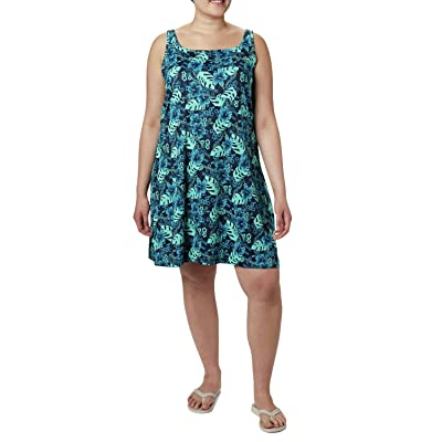 Columbia Plus Size Freezer III Dress (Dolphin Vacation Vibes) Women