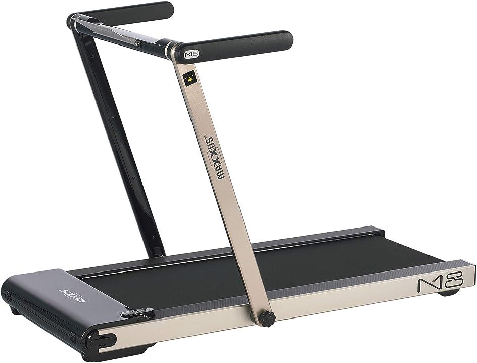 Tapis roulant m8 con battistrada da 124 x 45 cm, 12 km/h, 5 cv, supporto per tablet maxxus m8 600328-00019-0001