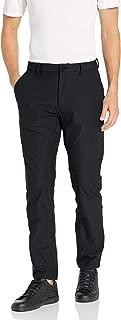 Peak Velocity Amazon Brand Men's Travel Pant, Black, 32W x 30L