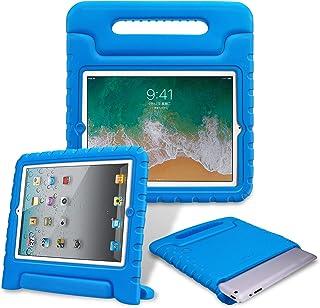 حافظة Fintie Kiddie لأجهزة iPad 2/3/4 (الطراز القديم) - مقبض خفيف الوزن مقاوم للصدمات قابل للطي قابل للطي مناسب للأطفال iP...