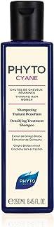 Phyto Phytocyane Shampoo Anticaduta Ridensificante, Ottimale per la Caduta Occasionale dei Capelli da Donna, Formato da 25...