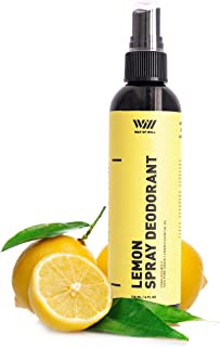 Spray Deodorant (Lemon)