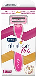 Schick Intuition f.a.b. Women Razor Handle (Pack of 2)