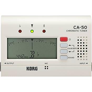 Korg CA-50 - Afinador de bolsillo cromado: Amazon.es: Instrumentos ...