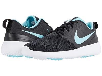 Nike Golf Roshe G (Black/Bleached Aqua/White) Men