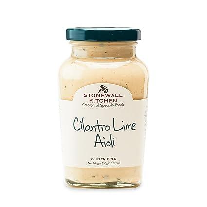 Amazon Com Stonewall Kitchen Cilantro Lime Aioli 10 25 Oz Grocery Gourmet Food