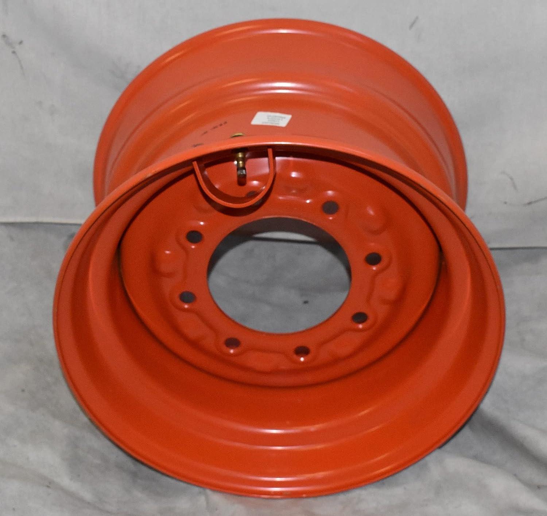 12-16.5 Manufacturer OFFicial shop 1 - Max 85% OFF RIM 9.75x16.5 STEER 12X16.5 COLOR ORANGE SKID