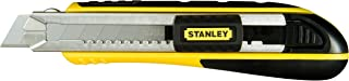 Stanley FatMax 0-10-481 Cúter Cartucho, 18 mm, Negro, Amarillo, 18mm
