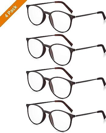7d785134b0 Read Optics: X4 Pack de Gafas Hombre/Mujer de Lectura Presbicia +2,