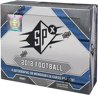 2012 Upper Deck SPx Football Hobby Box - Nick Foles RC