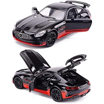 Magicwand®🙆 1:32 Scale Die-Cast Mercedes AMG-GT3 with Openable 🎊Doors and Pull Back Action🙆