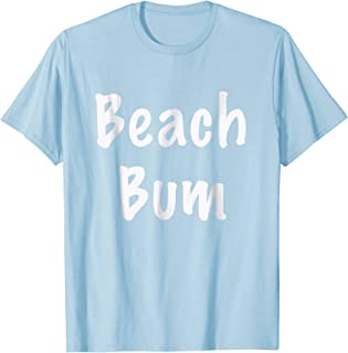 Beach Bum Tropical T Shirt