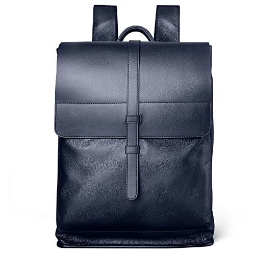 ffed9c75569 PADIEOE Backpack for Men Bags Leather Laptop Bags Business Unisex