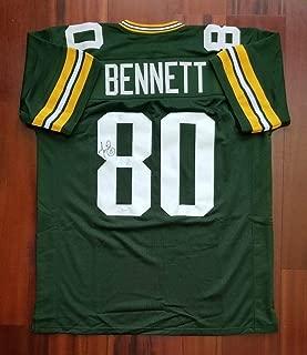 Martellus Bennett Autographed Signed Jersey Green Bay Packers Memorabilia JSA