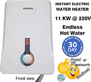 RODWIL 12.6 KW ELECTRIC TANKLESS WATER HEATER