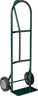 BKB85 600 lb P-Handle with Solid Rubber Wheels Hand Truck, Green
