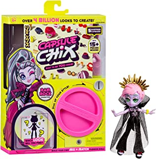 Capsule Chix Ram Rock Collection, 4.5 inch Doll with Capsule Machine Unboxing and Mix and Match Fashions and Accessories