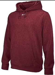 NIKE Mens Team Club Fleece Pullover Hooded Sweatshirt