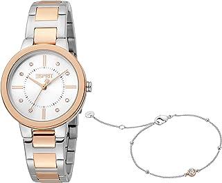 ESPRIT Women's Fashion Quartz Watch - ES1L246M0095; Multi Color