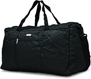 Foldaway Duffle Medium Duffel Bag, Black, One Size