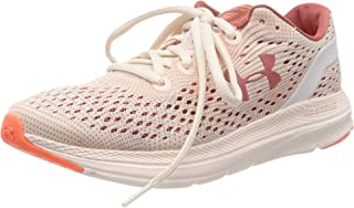 Under Armour Charged Impulse MJVE, Women's Road Running Shoes, Pink (Apex Pink/Peach Plasma/Fractal Pink)
