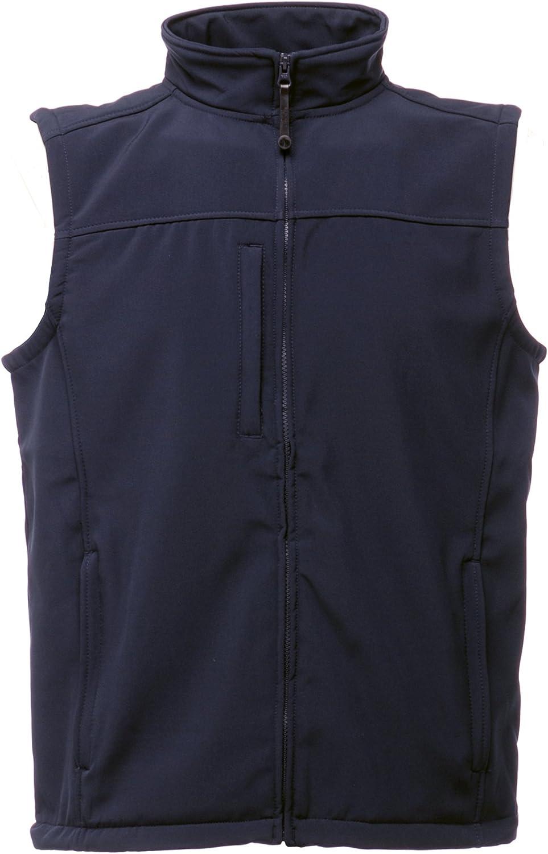 Regatta Mens Flux Softshell Sleeveless Free shipping specialty shop Bodywarmer Jacket Water