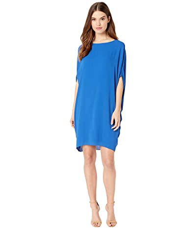 Halston Cocoon Dress (Cobalt) Women