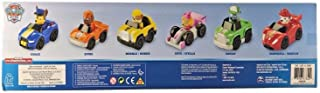 Paw Patrol Racers 6-pack, Set Includes Chase, Zuma, Rubble, Skye, Rocky and Marshall Racers