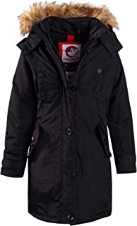 Girls Outerwear – Heavyweight Insulated Long Length Durable Expedition Parka Jacket