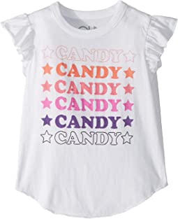 Super Soft Vintage Jersey Candy Tee (Toddler/Little Kids)