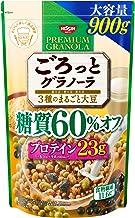 日清シスコ ごろっとグラノーラ 3種のまるごと大豆 糖質60% オフ 900g