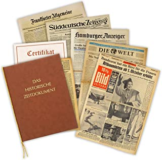 Zeitung vom Tag der Geburt 1932 - historische Zeitung inkl.