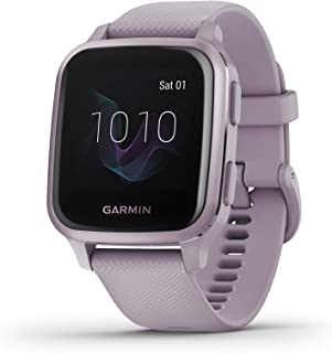 Garmin Venu Sq, GPS Smartwatch with Bright Touchscreen Display, Up to 6 Days of Battery Life, Orchid Purple
