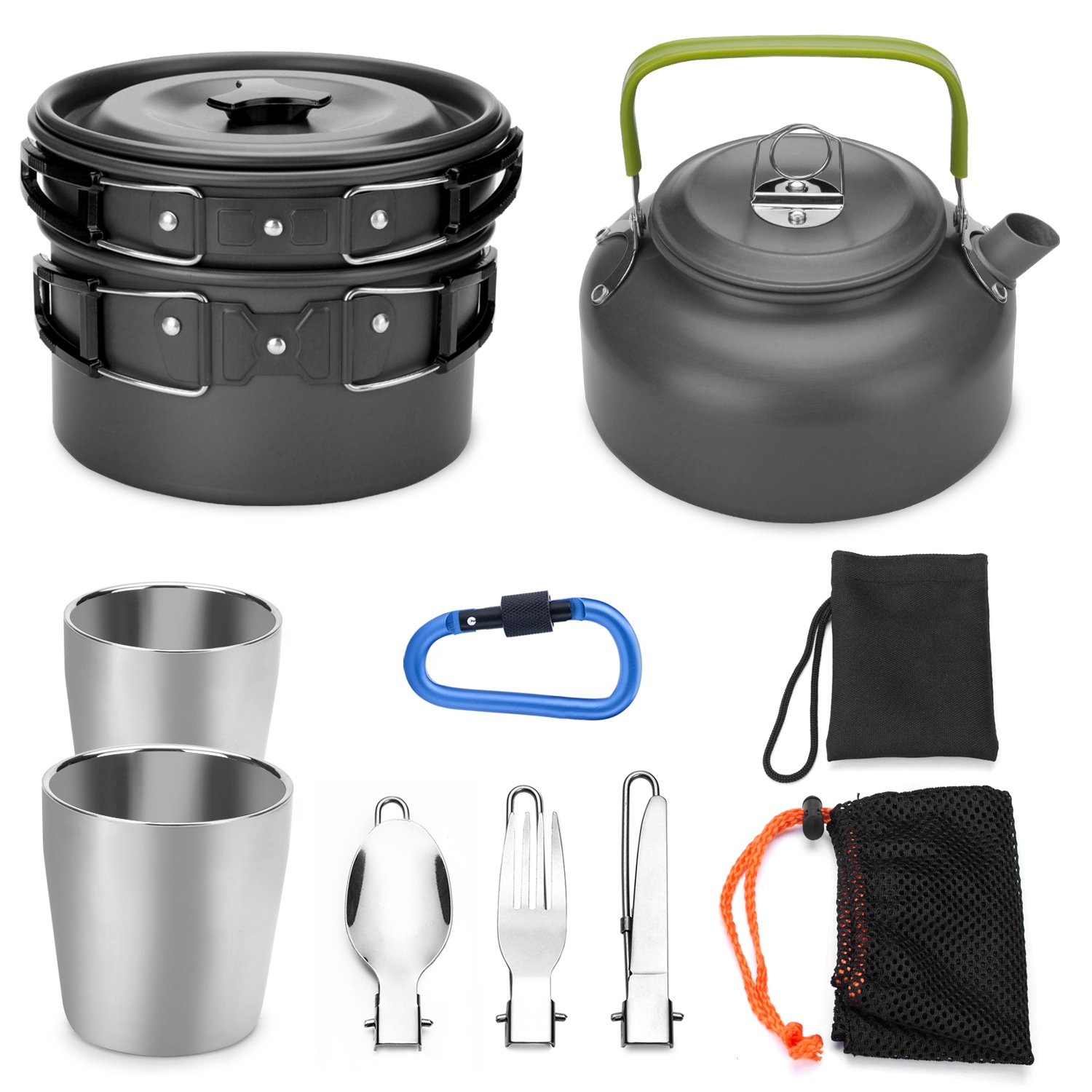 Odoland Camping Cookware Lightweight Backpacking