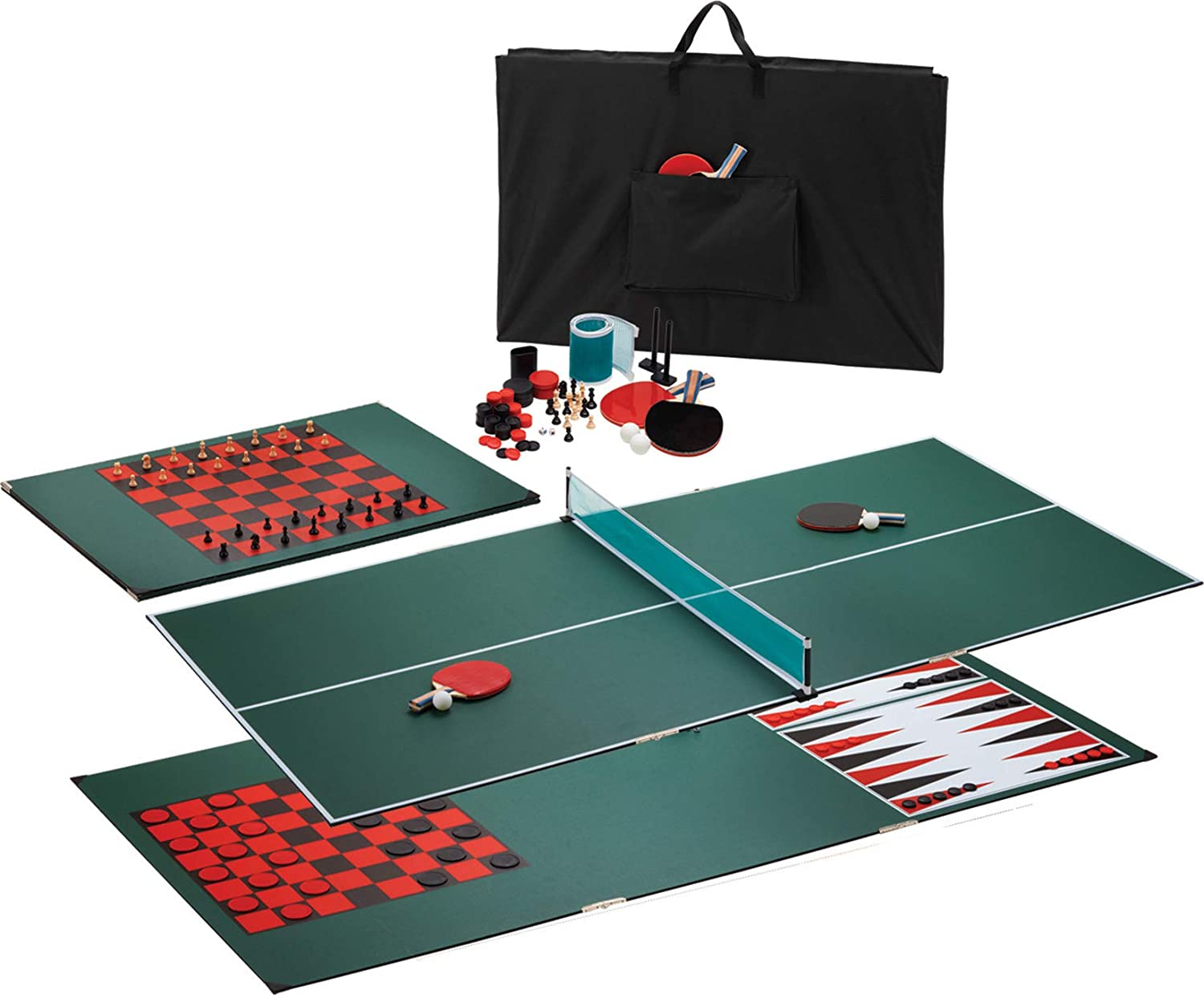 Viper by GLD Products 3-in-1 Portable Table Tennis Top