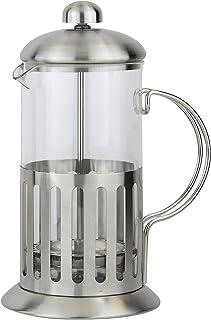Apollo Coffee Plunger 600ml, Silver, 14.7x23.5x14cm
