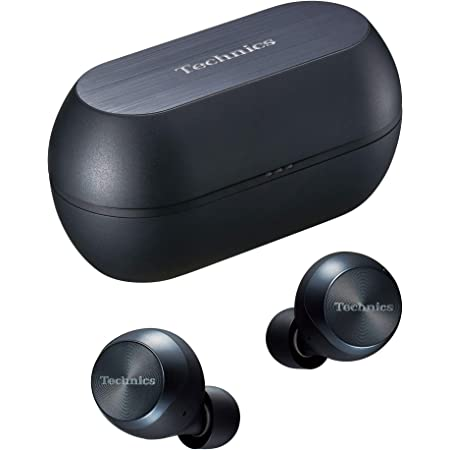 パナソニック テクニクス カナル型 ノイズキャンセリング 完全ワイヤレスイヤホン Bluetooth対応 防滴 ブラック EAH-AZ70W-K
