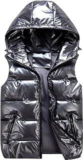 AIEOE chaqueta acolchada sin mangas para niños chaleco con capucha abrigos sin mangas ropa de otoño e invierno para niñas ...