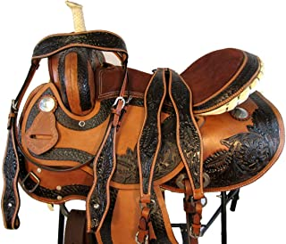 western saddle latigo