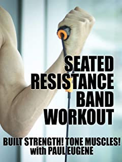 Seated Resistance Band Workout