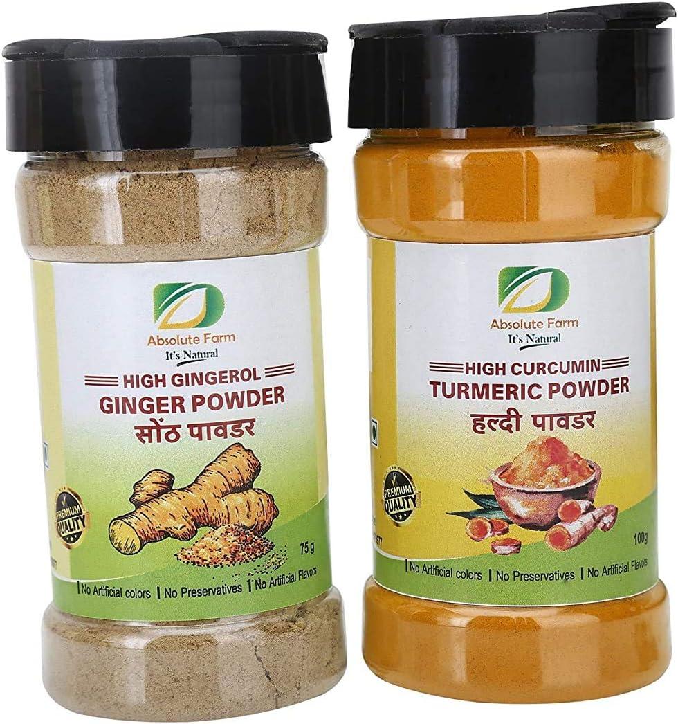 Brianna Absolute Farm Spice Pack Turmeric Powder Curcumin Popularity NEW before selling ☆ High