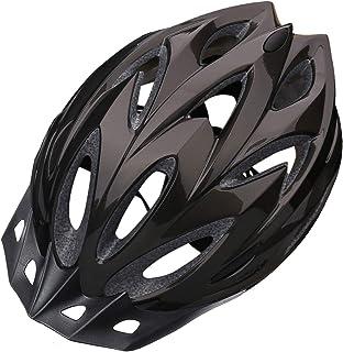 iWUNTONG Adult Bike Helmet, Cpsc Certified Bicycle Helmet for Adults Men Women with Removable Sun Visor&Portable Bag Light...