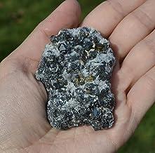 Galena with Pyrite from Bulgaria - galena stone - pyrite mineral - crystal specimen - fool's gold - rare minerals - rare s...