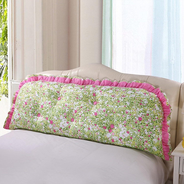 Tête de lit Coussins de Coussin Tissu Art Housse de lit Soft Case canapé Grand Coussin arrière Lavable Multifonction, 9 Couleurs, 5 Tailles (Couleur   2, Taille   200 × 55cm)